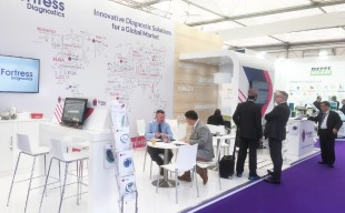 Fortress Diagnostics at Medica 2018 Work 001