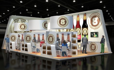 8 Degrees Exhibition Stand Design