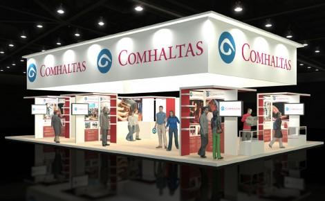 Comhaltas Exhibition Stand Design