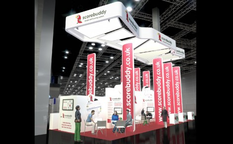 Scorebuddy Exhibition Display Stand 2014