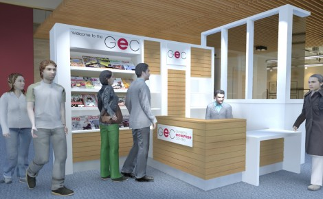 GEC New Reception Area Design