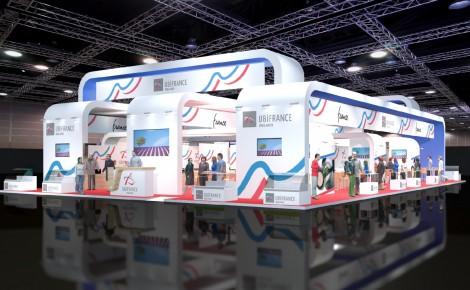 UbiFrance Ireland Exhibition Stand 2014