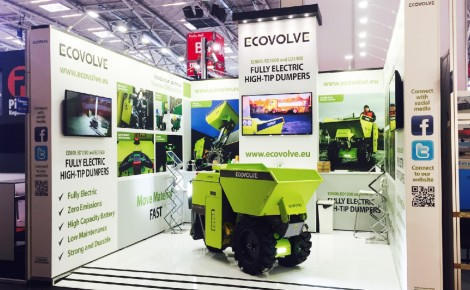 Ecovolve at Bauma 2016 Work 01