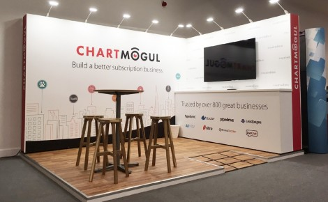 SaaStock 2016 Chartmogul Booth
