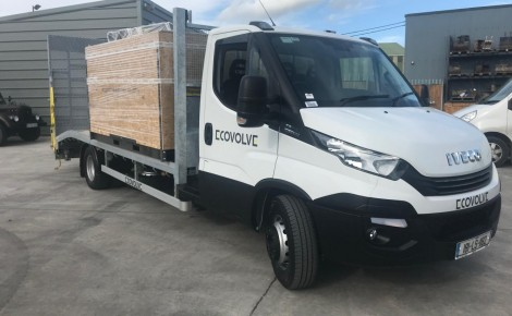 Ecovolve Iveco Decals