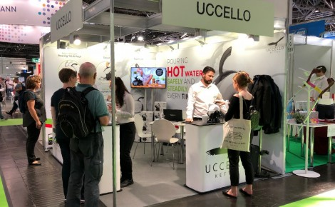 Uccello at Rehacare 2018 Work 001