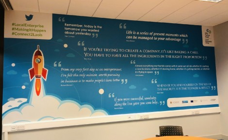 Laois LEO Wall Graphics