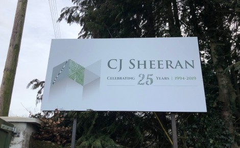 CJ Sheeran Outdoor Sign 001