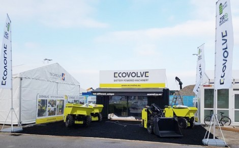 Ecovolve at Bauma 2019 Work