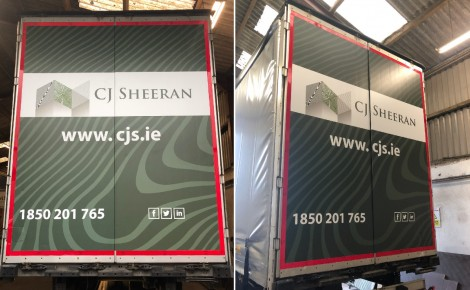 CJ Sheeran Rear Truck Trailers Work