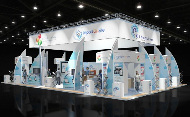 Effective Software Exhibition Stand Home Page