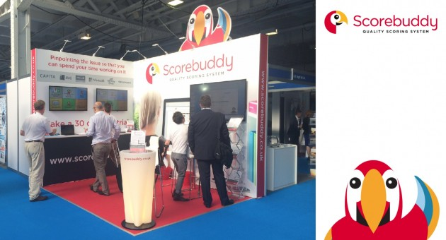 Scorebuddy at Customer Contact Expo 2015