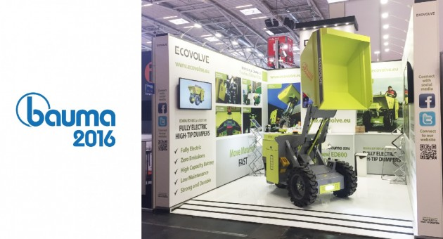 Ecovolve at Bauma 2016 News