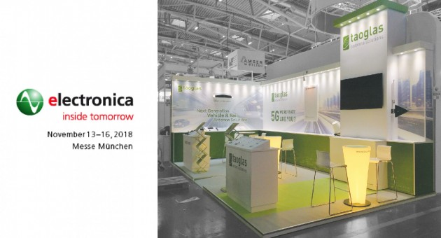 Taoglas at Electronica 2016, Messe Munich
