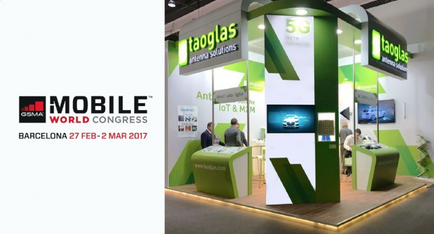 Taoglas at MWC 2017 Barcelona News