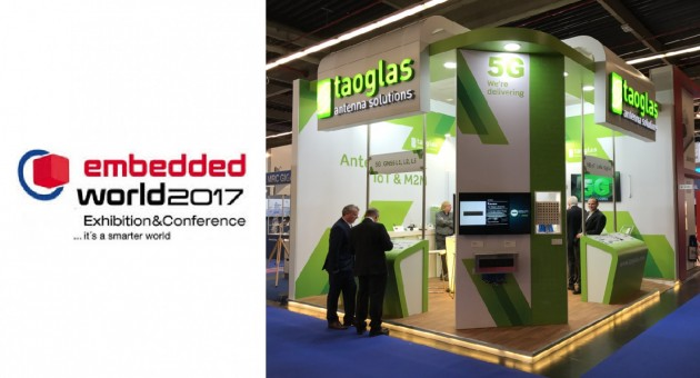 Taoglas at Embedded World 2017, Messe Nuremberg