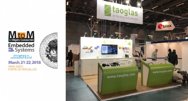 Taoglas M to M Paris 2018 News