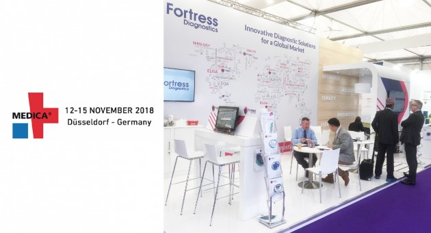 Fortress Diagnostics at Medica 2018 News 001