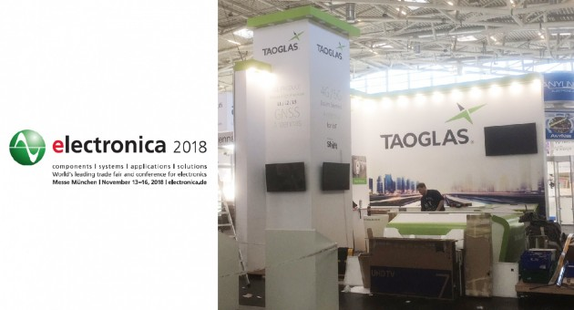 Taoglas at Electronica 2018 News 001