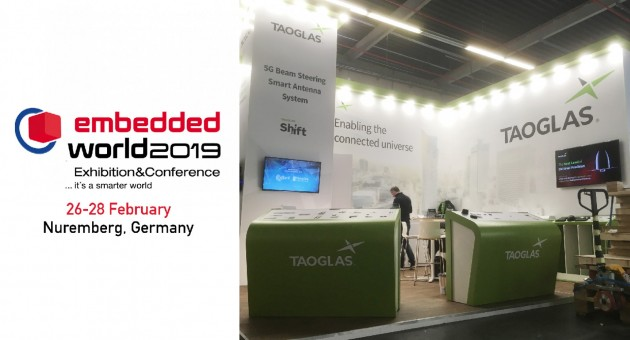 Taoglas at Embedded World 2019