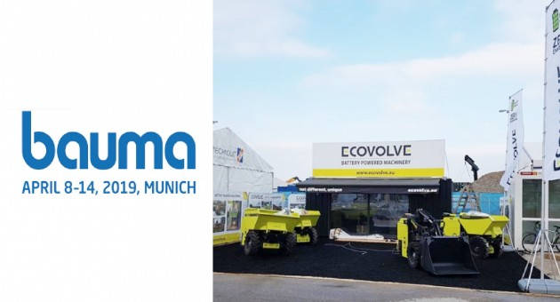 Ecovolve at Bauma 2019 News