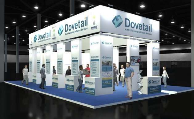 Dovetail Exhibition Stand