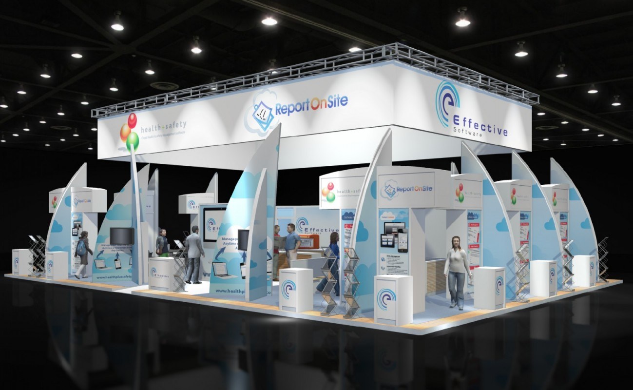 Exhibition Stand Design Programs : Effective software exhibition stand design for iosh